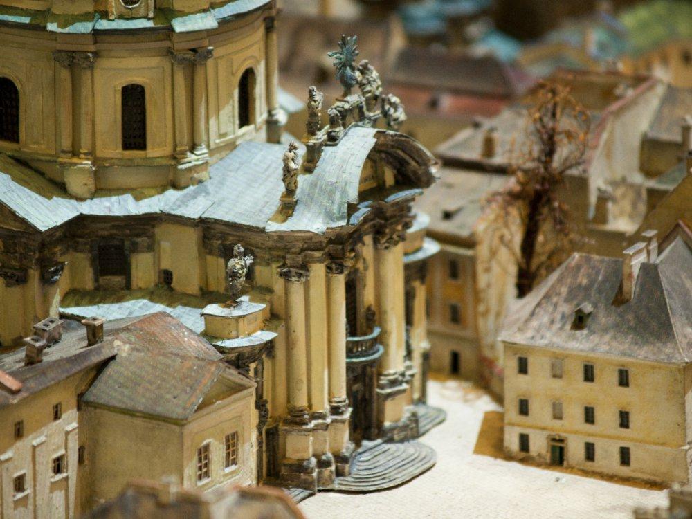 У Вроцлаві знаходиться мініатюрна історична реконструкція Львова 1772 року. Фото panoramalwowa.