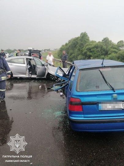 У ДТП на Львівщині постраждали шестеро людей, четверо з них – діти